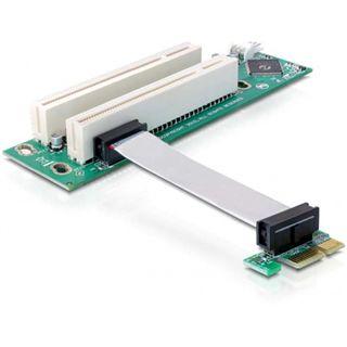 Delock I/O 2x PCI-Express PCI 32Bit 5 V (Riser Karte)