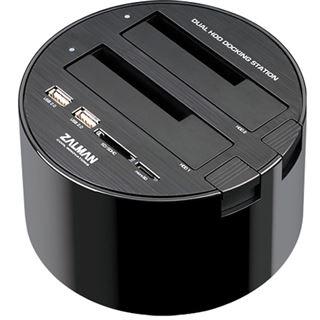 """Zalman Dockingstation für 2x 2.5"""" oder 3.5"""" SATA Festplatten (MH200-HUB)"""