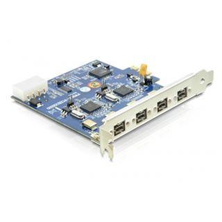 Delock 89208 4 Port PCIe x1 retail