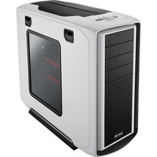 Corsair Special Edition White Graphite 600T mit Sichtfenster Midi Tower ohne Netzteil schwarz/weiss