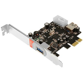 Akasa PCIe Extention Card - 1x internal/1x external USB 3.0
