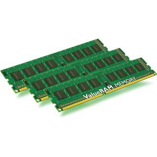 24GB Kingston ValueRAM DDR3-1333 regECC DIMM CL9 Tri Kit
