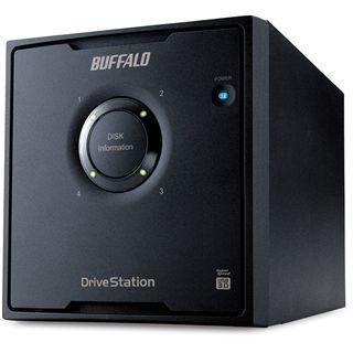"""4000GB Buffalo DriveStation Quad HD-QL4TU3R5-EU 3.5"""" (8.9cm) USB 3.0 schwarz"""