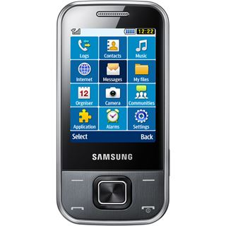 Samsung C3750 metallic-gray