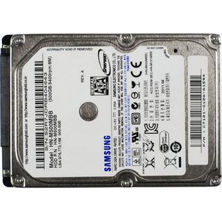"500GB Samsung Spinpoint M8 HN-M500MBB. 8MB 2.5"" (6.4cm) SATA 3Gb/s"