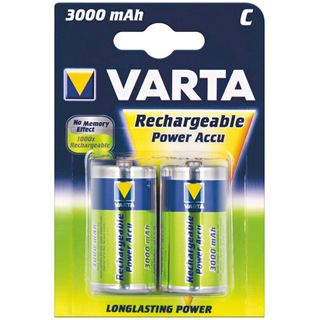 Varta® Power Akku (READY 2 USE) Akku Ni-MH Mono (D) 1,2V 3000mA (56720), 4er Pack in Blister