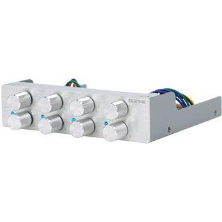 "Scythe Kaze Q-8 8-Kanal silber Lüftersteuerung für 3,5"" (KQ02-SL-3.5)"