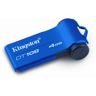 4 GB Kingston DataTraveler 108 blau USB 2.0