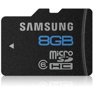 8 GB Samsung Kit Essential microSDHC Class 6 Retail inkl. Adapter