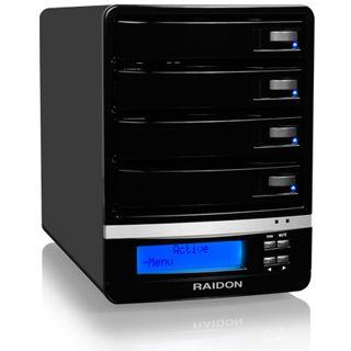 "RaidSonic GR5630-WSB3 3.5"" (8,89cm) eSATA/FireWire 800/USB 3.0 schwarz"