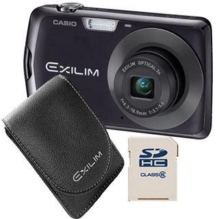 Casio Computer Exilim EX-Z335 schwarz Kit - inkl. Tasche + 4 GB SD-Sp