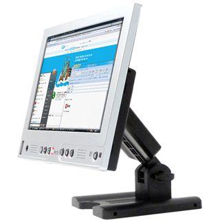 """10"""" (25,40cm) Faytech Touchscreen-Monitor silber"""