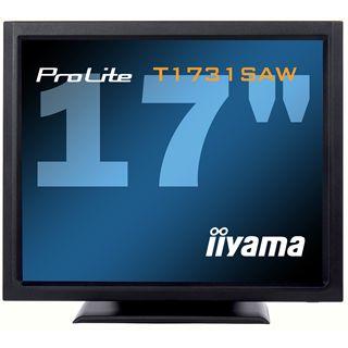 """17"""" (43,18cm) iiyama ProLite T1731SAW-B1 Touch schwarz 1280x1024 1xVGA/1xDVI"""