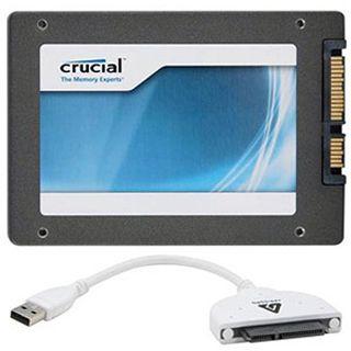 "64GB Crucial m4 Transfer Kit 2.5"" (6.4cm) SATA 6Gb/s MLC synchron (CT064M4SSD2CCA)"
