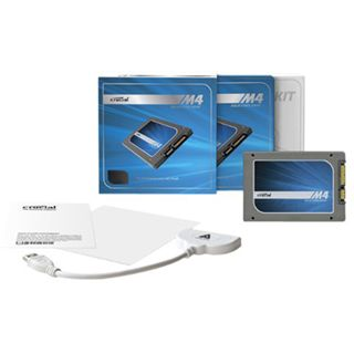 "256GB Crucial m4 Transfer Kit 2.5"" (6.4cm) SATA 6Gb/s MLC synchron (CT256M4SSD2CCA)"