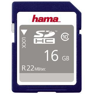 16 GB Hama High Speed Gold SDHC Class 10 Retail
