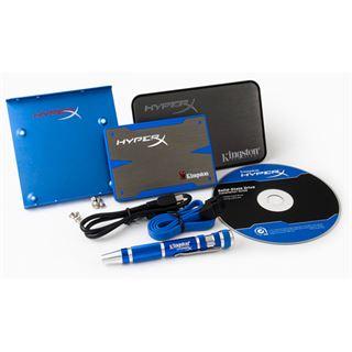 "240GB Kingston HyperX SSD 2.5"" (6.4cm) SATA MLC synchron (SH100S3B/240G)"