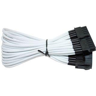 NZXT weißes 25cm 24-Pin Verlängerungskabel für Mainboards (CBW-24P)
