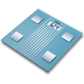 Beurer Glaswaage GS 28 Frosted Square