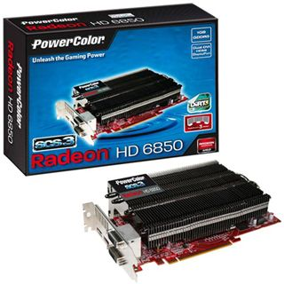 1GB PowerColor Radeon HD 6850 SCS3 Passiv PCIe 2.1 x16 (Bulk)