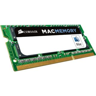4GB Corsair Mac Memory DDR3-1333 SO-DIMM CL9 Single