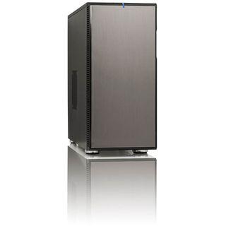 Fractal Design Define R3 USB3.0 Titanium Grey Midi Tower ohne Netzteil schwarz/grau