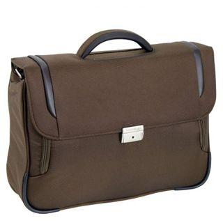 """Samsonite X-Blade Briefcase 1 Gusset16"""" Lighter, braun"""
