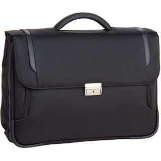 "Samsonite X-Blade Briefcase 3 Gusset16"" Lighter, schwarz"