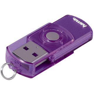 """8 GB Hama FlashPen """"Elatio"""" lila USB 2.0"""