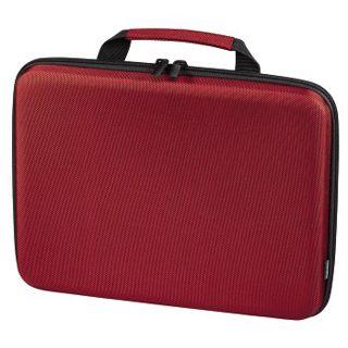 Hama Notebook-Hardcase Tech-Fabric, Displaygrößen bis 30 cm (11,6), Rot