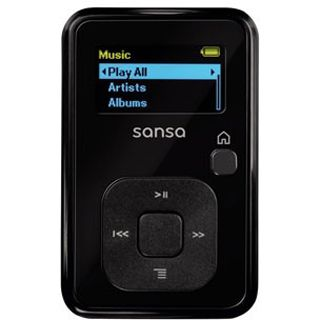 SanDisk MP3-Player Sansa Clip Plus 2GB + Radio, Schwarz