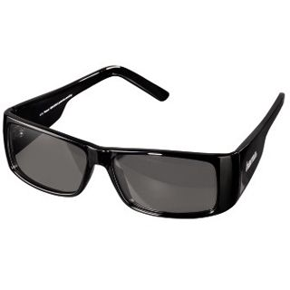 Hama 3D-Polfilterbrille, Unisex, sportlich, Schwarz