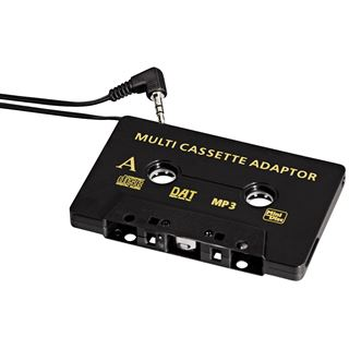 Hama CD-Adapter Kfz, Schwarz