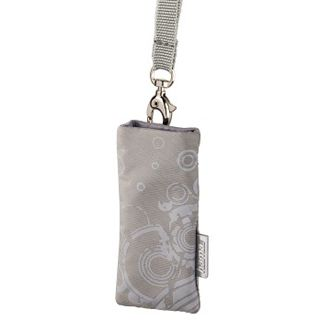 Hama USB-Stick-Tasche Print, Grau