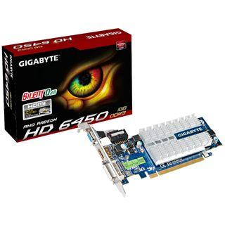 1GB Gigabyte Radeon HD 6450 Passiv PCIe 2.1 x16 (Retail)