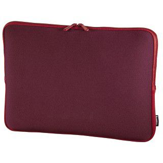 Hama Notebook-Sleeve Neoprene, Displaygrößen bis 44 cm (17,3), Bordeaux/Rot