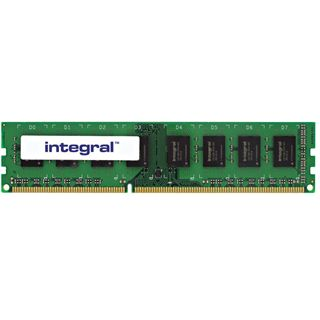 4GB Integral Memory Desktop DDR3-1333 DIMM CL9 Single