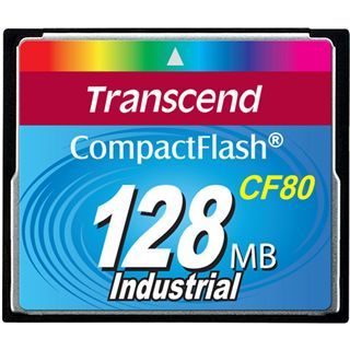 128 MB Transcend Ultra Compact Flash TypI 80x Retail