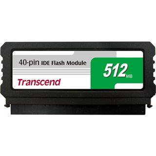 512MB Transcend IDE Flash Modul Module IDE 40-pin MLC asynchron (TS512MDOM40V-S)