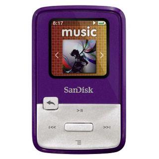 4GB SanDisk Sansa MP3 Clip Zip Pink 4GB (SDMX22-004G-E46P) retai