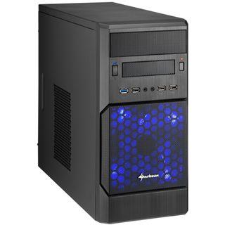 Sharkoon MS140 Mini Tower ohne Netzteil schwarz