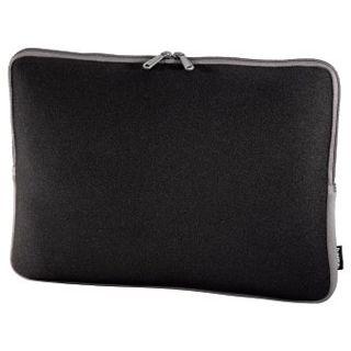 Hama Notebook-Sleeve Neoprene, Displaygrößen bis 40 cm (15,6), Schwarz/Grau