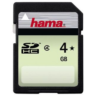 4 GB Hama SDHC Class 4 Retail