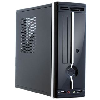 Chieftec FI-02BC ITX Tower 200 Watt schwarz