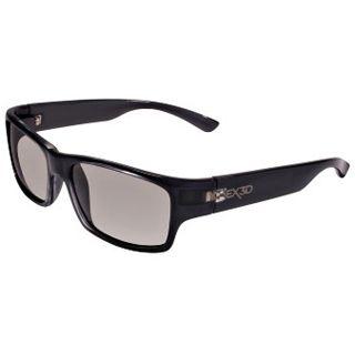 Hama EX3D Polfilterbrille, 5003 klassisch, Blau/Grau