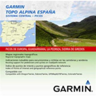 Garmin Alpina Espana Sistema Central Rasterkarte auf microSD