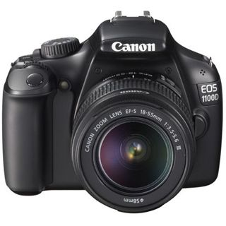 Canon EOS 1100D Kit inklusive EF-S 18-55 mm f/3.5-5.6 IS + EF 75-300 mm f/4-5-6 III
