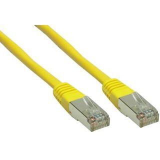 45.00m Good Connections Cat. 6 Patchkabel S/FTP PiMF RJ45 Stecker auf RJ45 Stecker Gelb