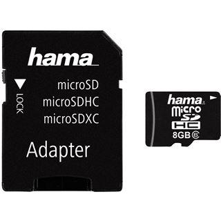 8 GB Hama Standard Foto microSDHC Class 6 Retail inkl. Adapter