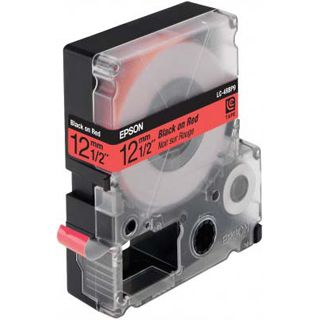 Epson LC-4RBP9 pastellrot Etikettenkassette (1 Rolle (1.2 cm x 9 m))